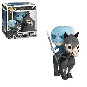 Funko - POP Rides: Game Of Thrones S10 - White Walker on Horse Brand New In Box