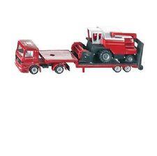 *NEW* SIKU 1620 BLISTER PACK Low Loader with Combine Harvester Diecast Model