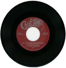 """G. 'DAVY' CROCKETT  """"DID YOU EVER LOVE SOMEBODY (THAT DIDN'T LOVE YOU)""""  R&B"""