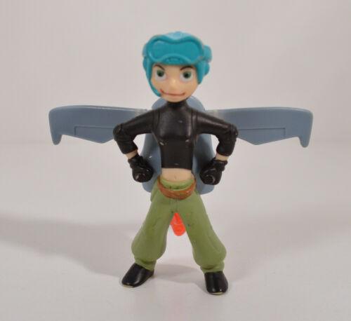 "2003 Action Kim w// Wings 4/"" McDonald/'s Action Figure #4 Disney Kim Possible"