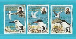 Brunei-aus-1996-postfrisch-MiNr-527-529-Seeschwalben-Voegel