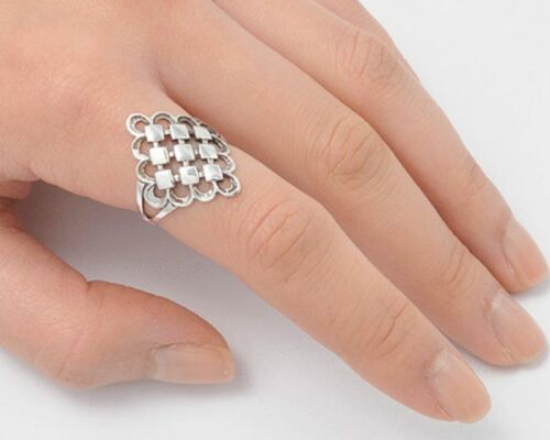 USA Seller Oxidized Ring Sterling Silver 925 Plain Best Deal Jewelry Size 12