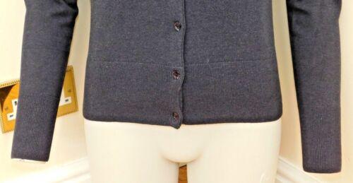 KERSH Donna Aderente v Collo Cardigan Con Bottoni Crytal qualità fantastica nuova con etichetta