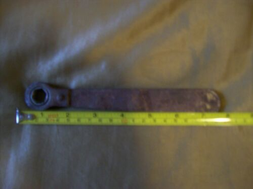 Antique Wrench Ratchet Reversible 12""