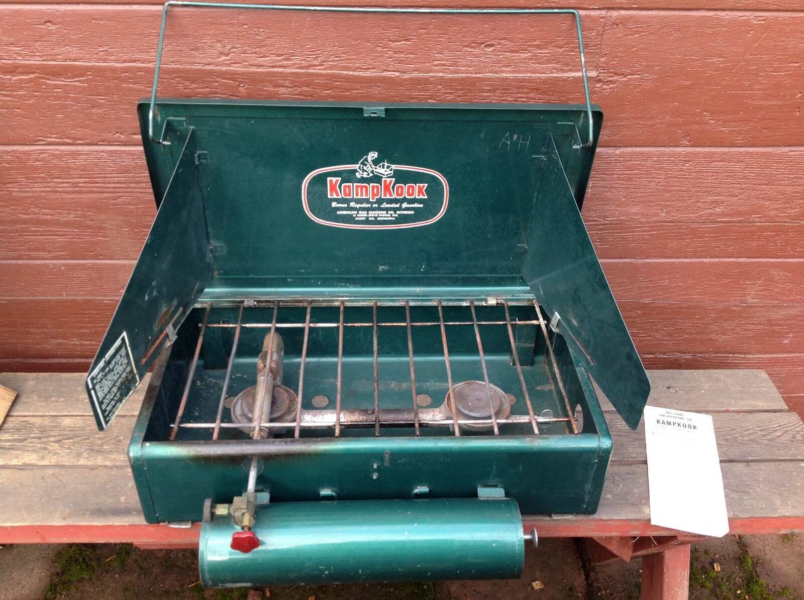 KampKook LCS - 41  Two Burner Gasoline Stove in Original Box with Paperwork  best quality best price