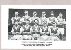 Team Pic from 196162 Football Annual  BURY  PETERBOROUGH UNITED - Cardiff, Cardiff, United Kingdom - Team Pic from 196162 Football Annual  BURY  PETERBOROUGH UNITED - Cardiff, Cardiff, United Kingdom