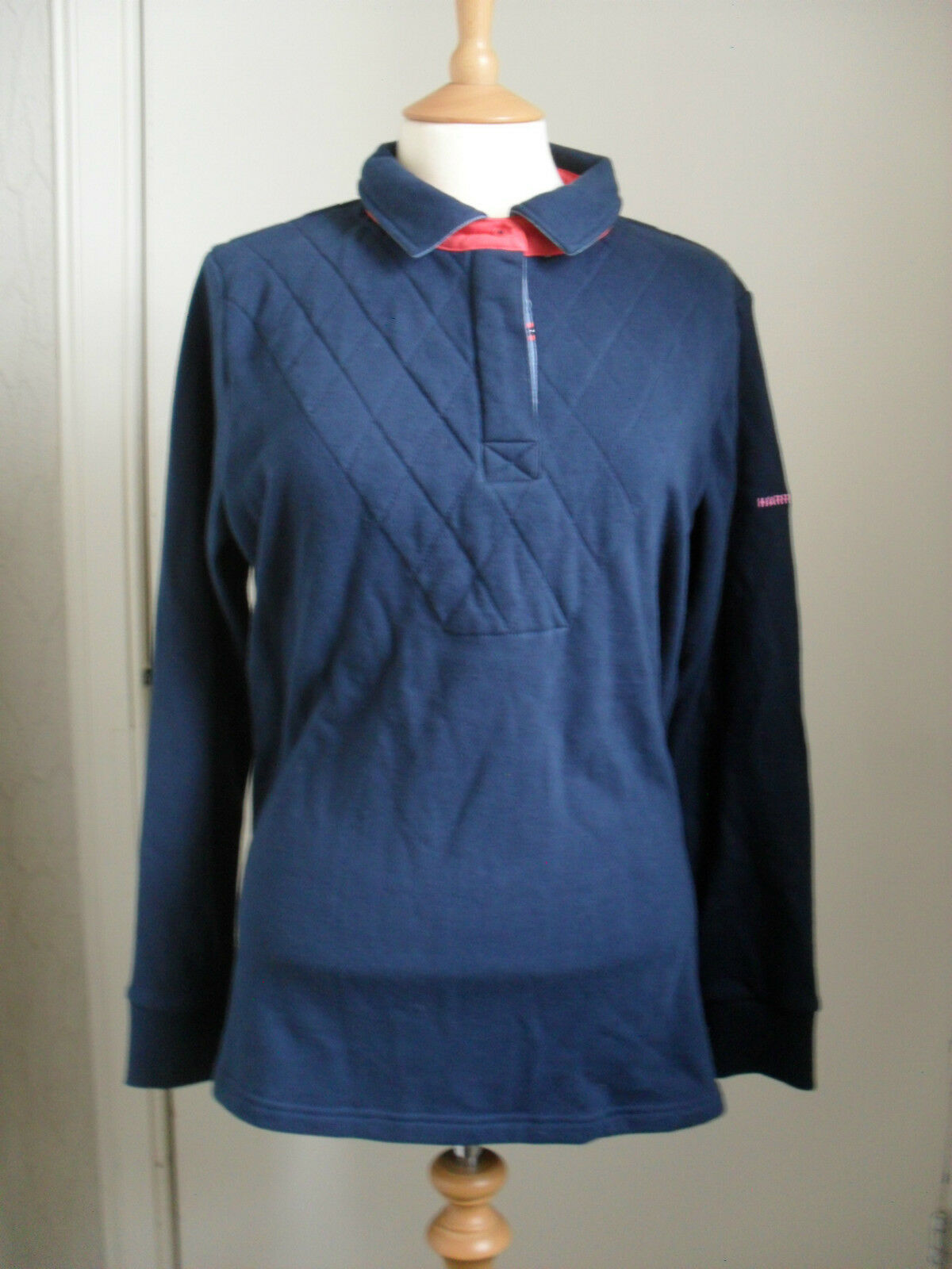 Harry Hall Ladies Bentham Rugby Shirt - Size Large