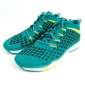 NIKE TRAIN QUICK Mens Sz 10 Shoes Rio Teal Running Trainers 844406 370