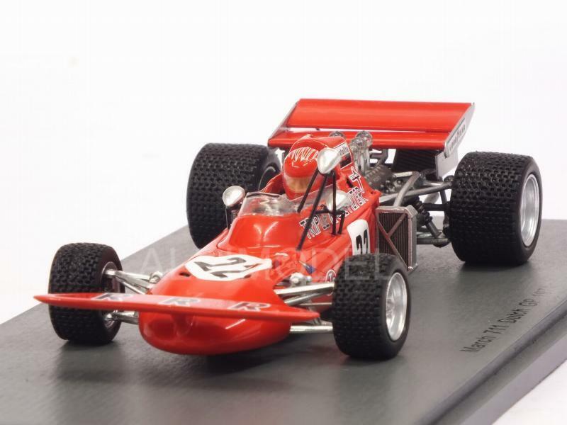 March 711 GP Netherlands 1971 Skip Barber 1 43 SPARK S5361
