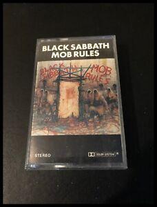 Mob-Rules-Black-Sabbath-Cassette-Tape-Album-Vertigo-Music-7144-119