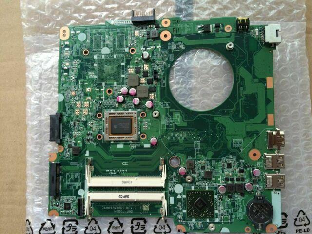 hp 14-N laptop Motherboard,734443-501 734443-001 da0u93mb6d0 A4-5000 CPU Grade A