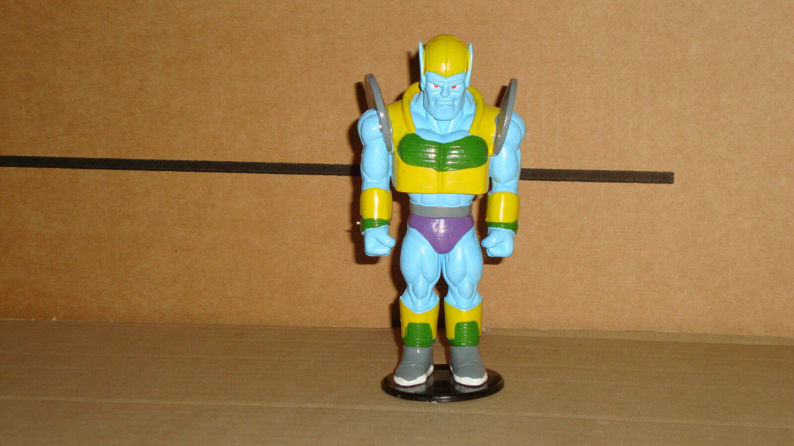 GENERAL RILLD DRAGON BALL ACTION FIGURE BY AGOSTINI IN 1996 SPAIN GOOD CONDITION