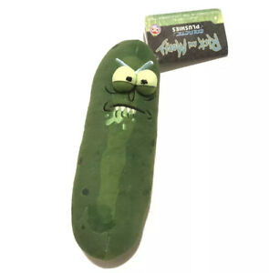 Funko-Galactic-Rick-And-Morty-7-Pickle-Rick-Biting-Lip-Plush-Stuffed-Figure