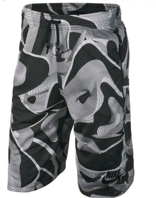 NIKE AIR BASKETBALL SHORTS  ANTHRACITE SIZE SMALL  834137 060