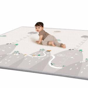 FJ-SOFT-BABY-tappeto-di-gioco-spessa-Neonato-Cotone-Cuscino-Bambini-Tappeto-strisciare