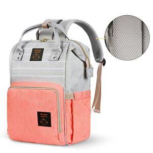 Diaper Bag Backpack Large - Multi-Function Waterproof Baby Travel Bags-6 colors