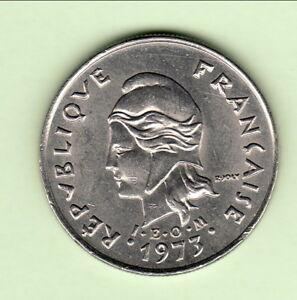 Polynesie Francaise 10 Fr 1973 Chouette Leom Sup Cote 19 Euro