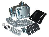 Land Rover Series 3 Full Front Door Hinge Kit & Stainless Steel Bolts Da1070