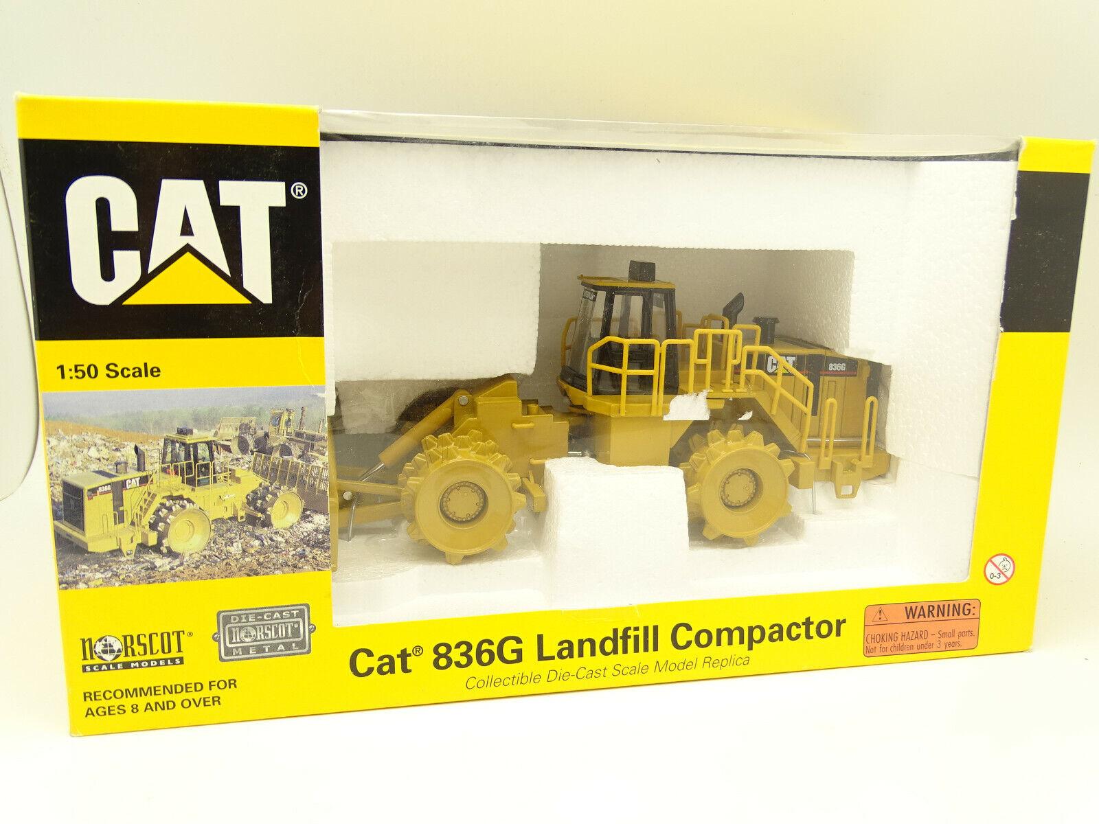 Norscot 1 50 tp BTP-caterpillar cat 836g landfill compactor