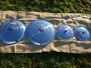 Deckel für Kazan Ø 40,42,43,46,48-86 cm Topf Pfannendeckel Asia Wok Kasan Казан