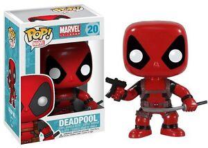 Funko pop Marvel: deadpool bobble head vinyl figure action avec pistolet et sabre  </span>