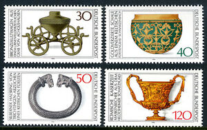 Germany 1218-1221, MNH. Archaeological Treasures, 1976