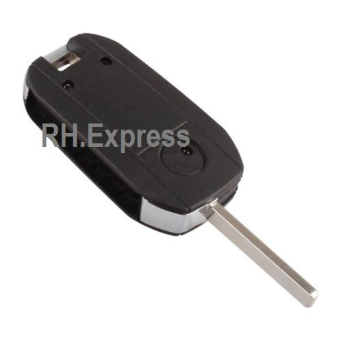 LOGO A14 NEW For Vauxhall Corsa Meriva Combo Opel 2 Button Remote Key Fob Case