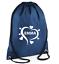 Custom Drawstring Bag Love Heart Personalised Gym PE Print Back to School