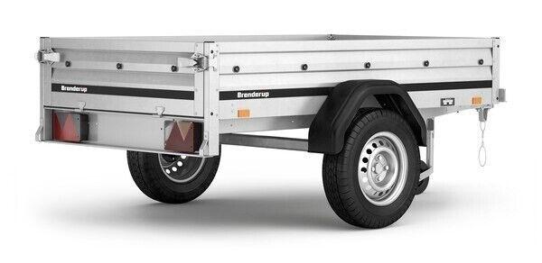 Ladtrailer, Brenderup 1205 S TILT, lastevne (kg): 370