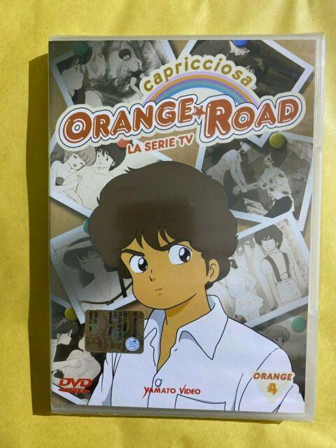 CAPRICCIOSA ORANGE ROAD LA SERIE TV Kimagure VOL. 4 Yamato Video DVD NUOVO