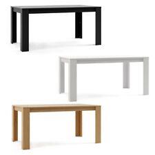 Mesa comedor madera salon mesa cocina diseño rectangular mueble 160x90x75cm
