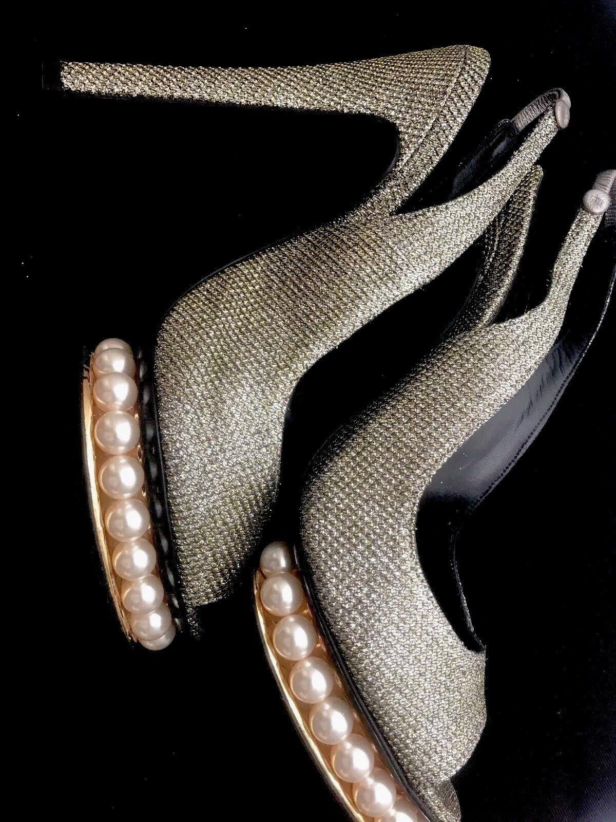 goditi il 50% di sconto Nicholas Nicholas Nicholas Kirkwood       High Heel Pearl Evening scarpe Brand New Dust Bag And Box  acquista la qualità autentica al 100%