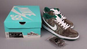 "watch 281c1 9382e Details about Nike SB Dunk Low ""STARBUCKS"" Green Mudslide Mocha Rare Pigeon  Lobster Size 12"