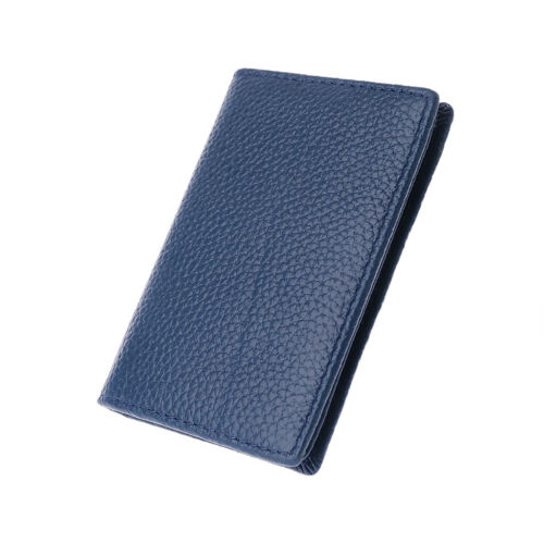 Father/'s Day gift Men Women Business Leather ID Credit Card Wallet Holder Pocket
