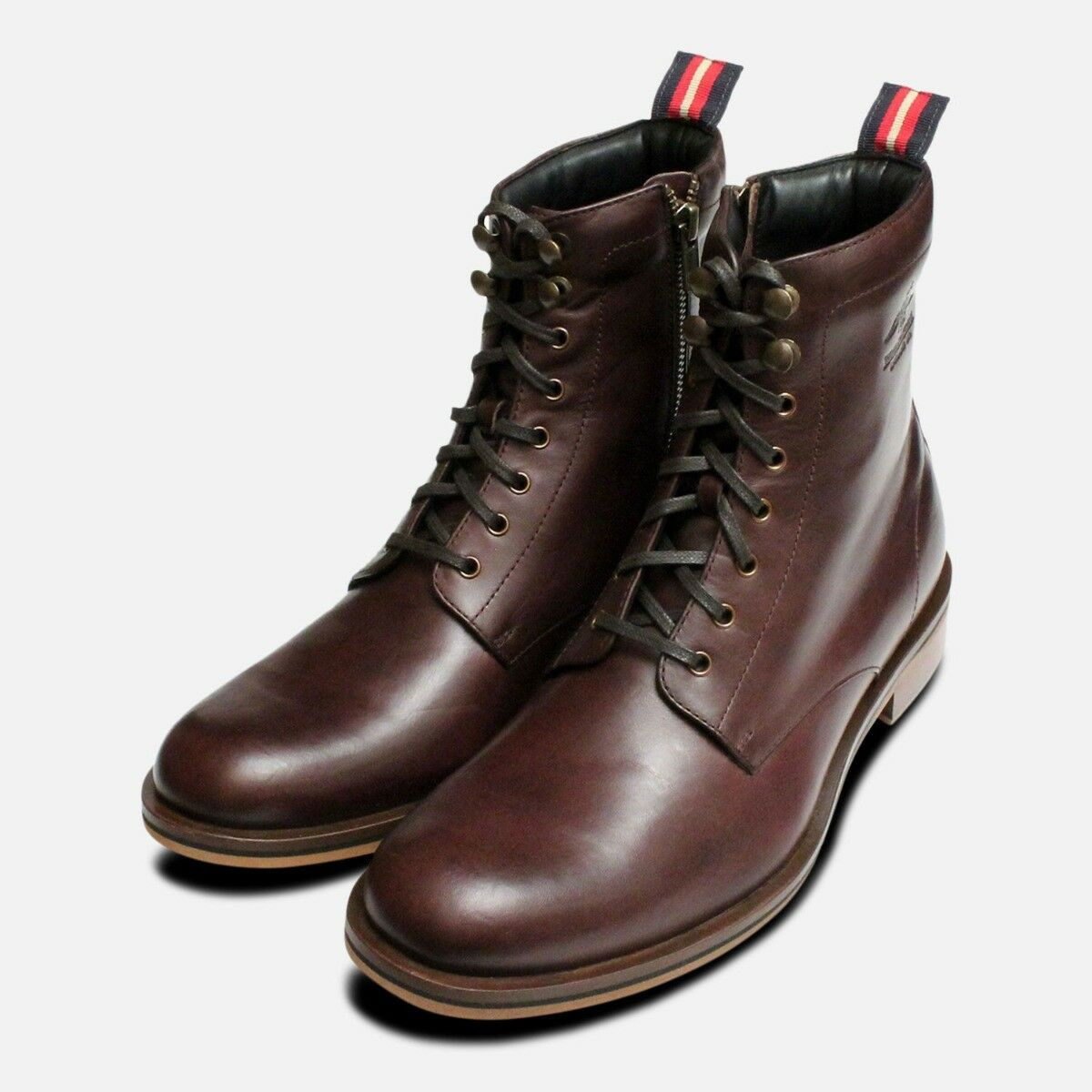Thomas Partridge Mens Dark Brown Linton Boots