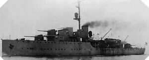 6x4-Gloss-Photo-wwAC7-Normandy-Naval-Photo-HNLMS-Flores
