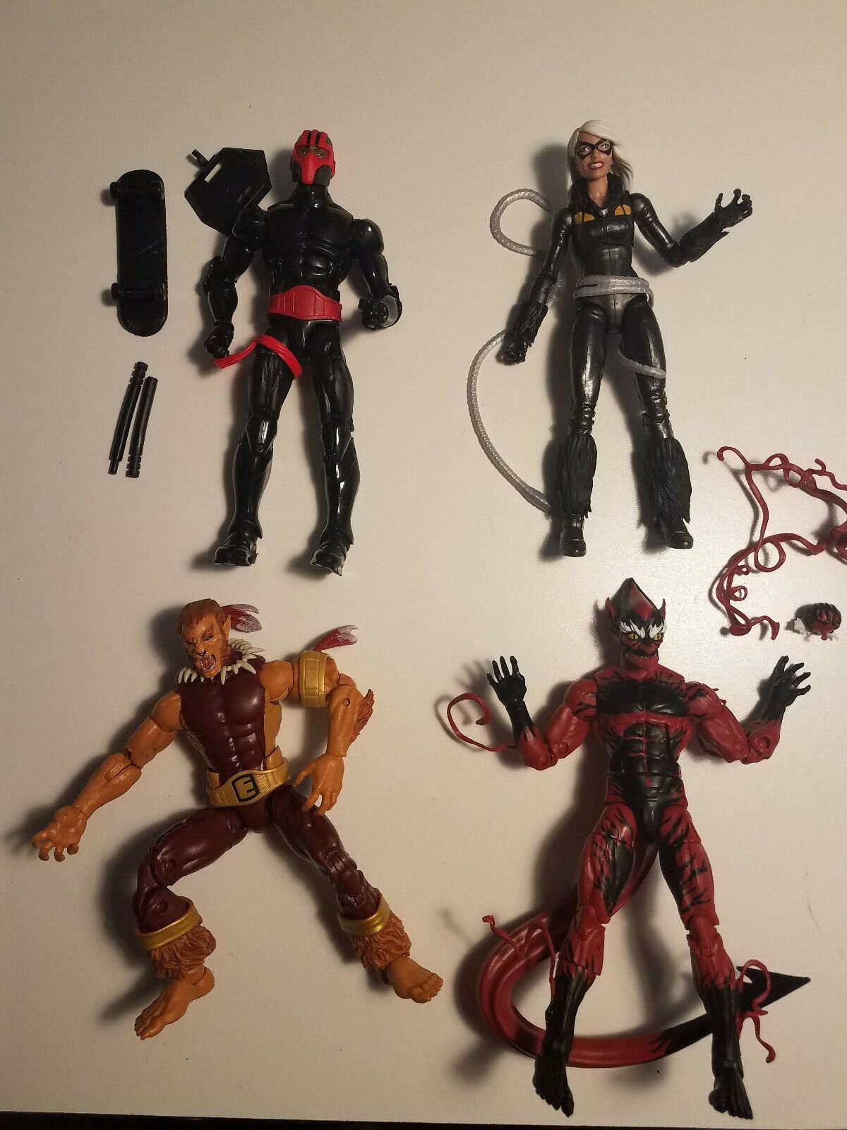Marvel Leyendas capo rosso Duende nero Cat Puma Thrasher