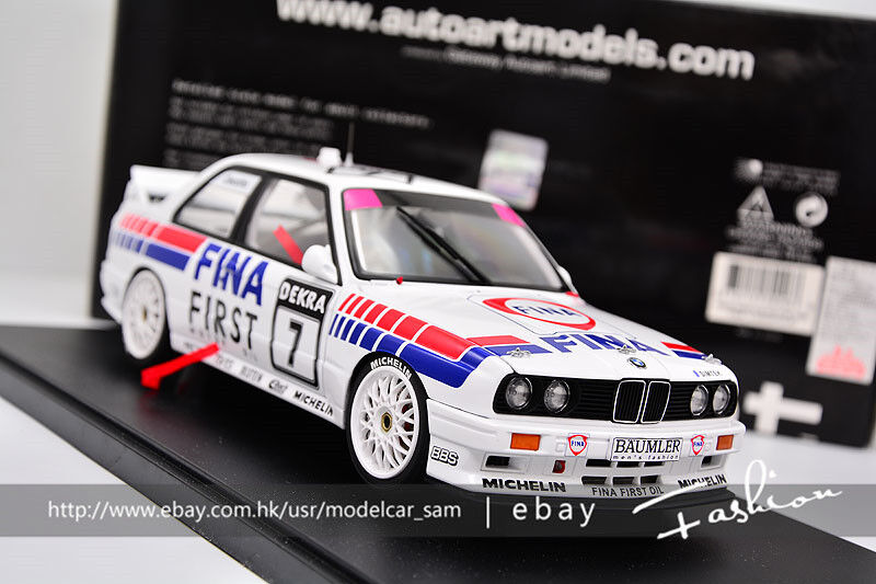 Autoart 1 18 BMW M3 (E30) Fina-DTM 1992
