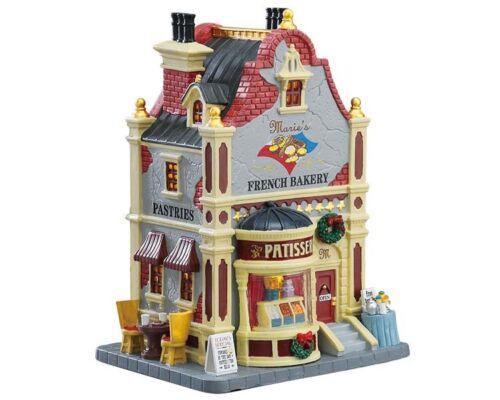 LEMAX Marie`s French Bakery Weihnachtsdorf Winterdorf Modellbau
