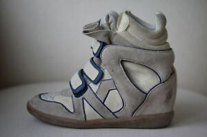 3 Wila 36 Sneakers Marant Us Isabel Eu Uk Concealed Wedge 6 Suede zS6xpq0