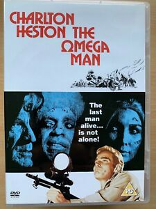 Omega-Man-DVD-1971-Last-Man-sur-Terre-I-Am-Legende-Sci-Fi-par-Richard-Matheson