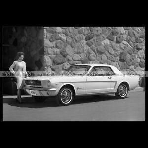 #pha.004575 Photo FORD MUSTANG 1960'S Car Auto - France - État : Neuf: Objet neuf et intact, n'ayant jamais servi, non ouvert. Consulter l'annonce du vendeur pour avoir plus de détails. ... - France