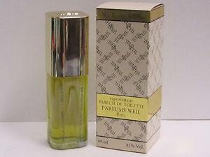 Details about Weil de Weil by Parfums Weil For Women 2 oz Parfum De Toilette Spray RARE