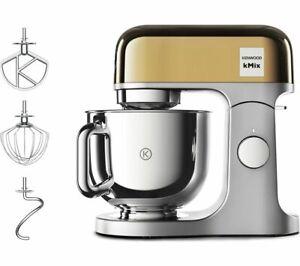 KENWOOD kMix KMX760YG Kitchen Machine - Gold - Currys