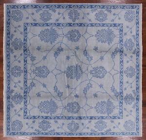 8-039-Square-Oriental-Oushak-Handmade-Rug-W2162