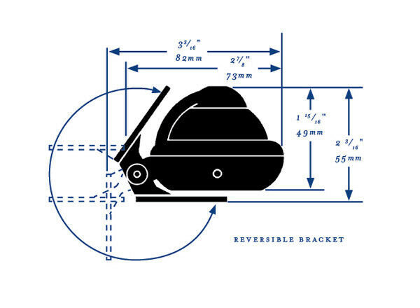 Ritchie Sport Kompass Sport Ritchie X-10 grau Anglerkompass Bügelkompaß 7dcb00