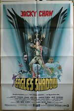 "Eagle's Shadow 1982 original  27"" x 41"" martial arts early Jacky Chan"
