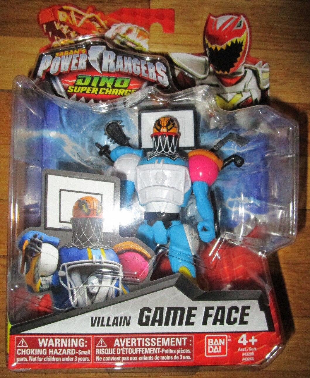 POWER RANGERS DINO SUPERCHARGE VILLAIN GAME FACE FIGURE 43245