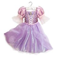 Disney Store Deluxe Tangled Rapunzel Princess Costume Dress 3 4 5/6 7/8 9/10