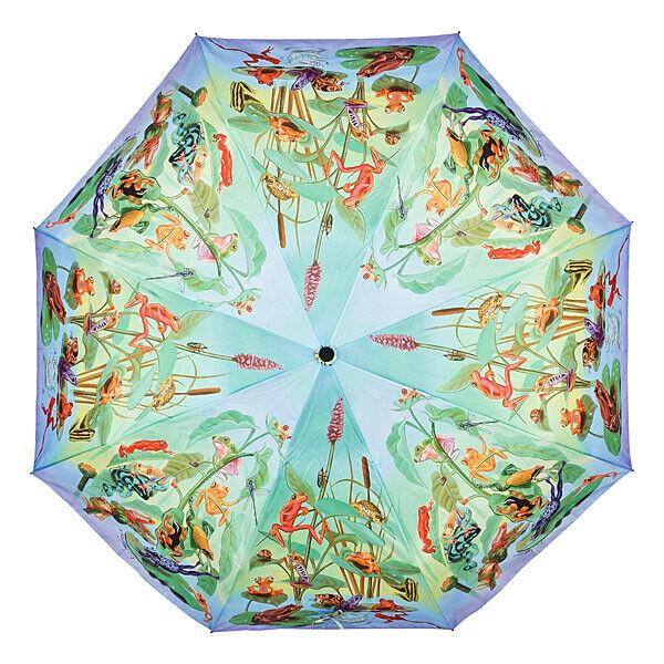 Candide Grenouille Famille Sacs Parapluie Parapluie Grenouille Roi Motif Sur-automatique Type Edition